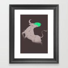 BULL?DOG? Framed Art Print