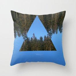 HIMLASKOGEN / WOODS IN THE SKY Throw Pillow