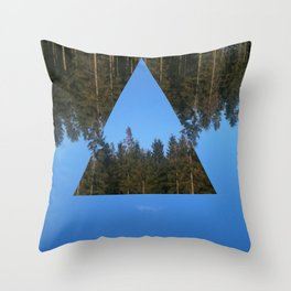 HIMLASKOGEN / WOODS IN THE SKY Throw Pillow