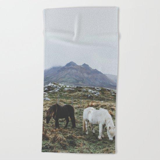 Iceland X Beach Towel