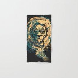 Lion is always Cool Hand & Bath Towel