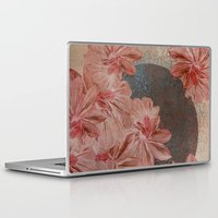 leah flores Laptop & iPad Skins featuring Flores by MACACOSS