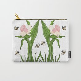 Buzzed Daffodils Carry-All Pouch