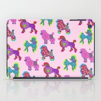 poodle iPad Cases featuring Poodle Mania by Elizabeth Kate