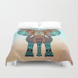 BOHO SUMMER ELEPHANT Duvet Cover