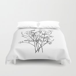 Cali Poppy Duvet Cover