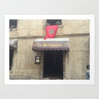 La cité portugaise Art Print