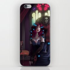 Vampire Lady iPhone & iPod Skin