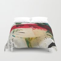 andreas preis Duvet Covers featuring Saigon Sally by Vin Zzep