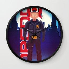 Dredd Wall Clock