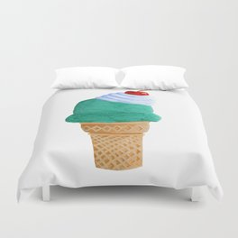 Ice Cream Cone Duvet Cover