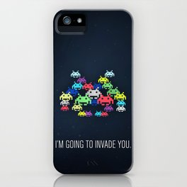 invader boss iPhone Case