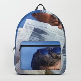 John F Kennedy Smoking Backpack