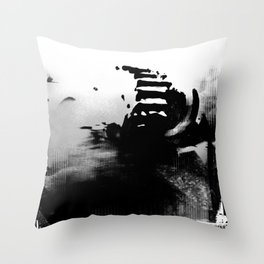 The Road of Excess Throw Pillow