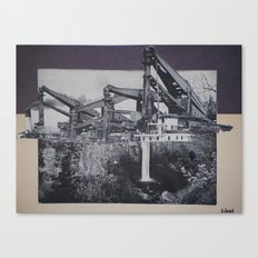 industrial fall Canvas Print