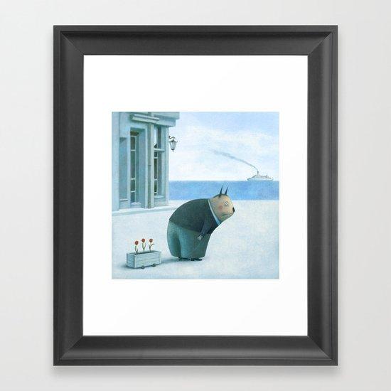Mister Bop Framed Art Print