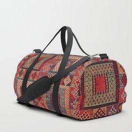 Azeri Zili Karabagh Azerbaijan South Caucasus Flatweave Print Duffle Bag