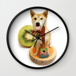 Ukulele Siu Gut  Wall Clock