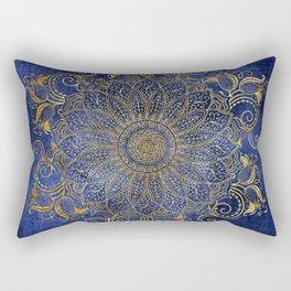 Blue velvet Rectangular Pillow