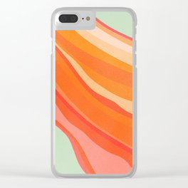 heatwave 2 Clear iPhone Case