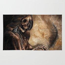Skeleton Scribe Rug