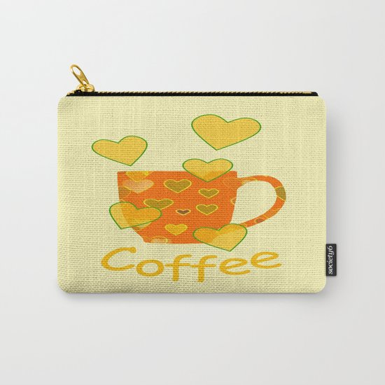 Coffee Fanatic Carry-All Pouch