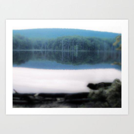 Impressions of Reflection Art Print