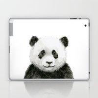 Baby Panda Whimsical Animal Watercolor Cute Baby Animals Laptop & iPad Skin