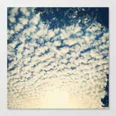 Clouds Effect Canvas Print