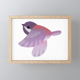 Tit - dark Framed Mini Art Print