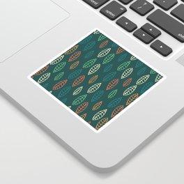 Leafy pattern Sticker