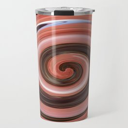 Swirl 01- Colors of Rust / RostArt Travel Mug