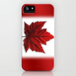 Canada Flag Souvenirs iPhone Case