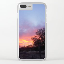Amazing sky Clear iPhone Case