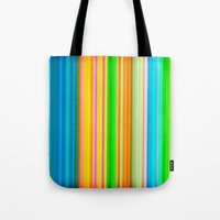 stripe Tote Bags featuring stripe by AmeliaPeelArt