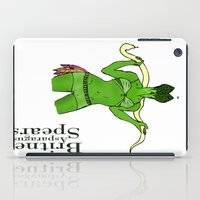 britney spears iPad Cases featuring Britney Spears by Pattavina