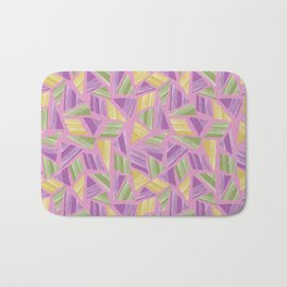 Tropical Geo Bath Mat