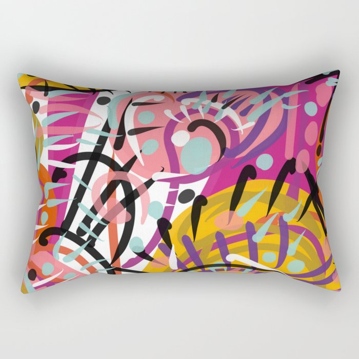 Simple complexity Rectangular Pillow