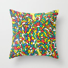 Inconsistency Throw Pillow