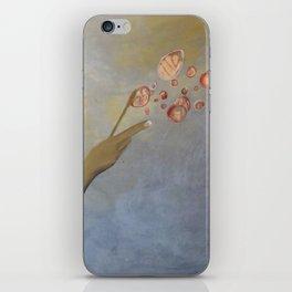 Zeit: A study of origin iPhone Skin
