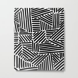 the Minimalist Metal Print