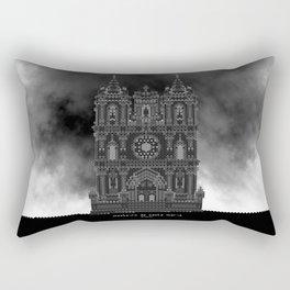 HexArchi - Portugal, Alcobaça, Mosteiro de Santa Maria . Igreja Rectangular Pillow