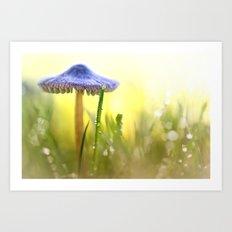 Magic Mushroom... Art Print