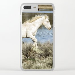 Two of a Kind Clear iPhone Case