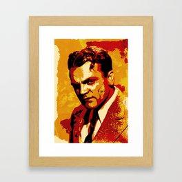 James Cagney Framed Art Print