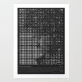 Bruce Tribute Art Print