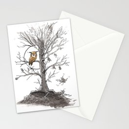 Autumn Owl Stationery Cards