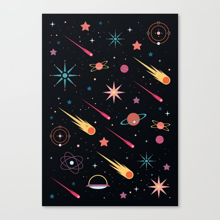 Fly Through Space Canvas Print