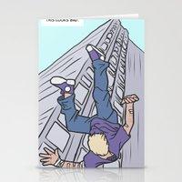 clint barton Stationery Cards featuring Hawkeye, Clint Barton by Brizy Eckert