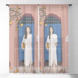A Sweet Summer Sheer Curtain